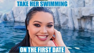 getlinkyoutube.com-Take Her Swimming On the First Date Makeup Tutorial