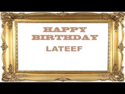 Lateef   Birthday Postcards & Postales