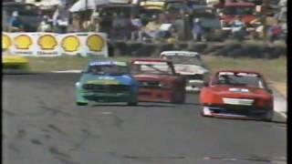 Alfetta Gt Turbo race against 1000hp monsters