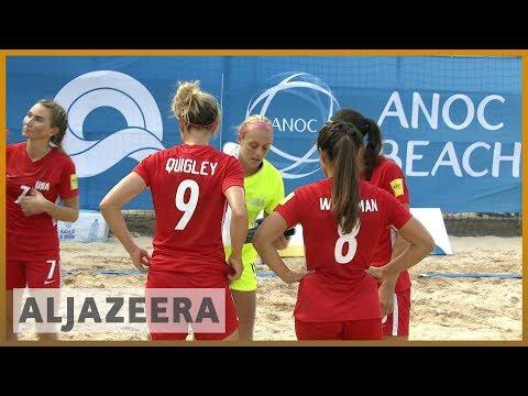 AlJazeera English:World Beach Games: Football history being made in Doha