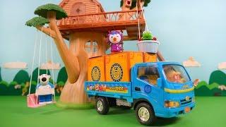 getlinkyoutube.com-뽀로로 이사 가는 날! 포터트럭 타고 슝슝~!★뽀로로 장난감 애니