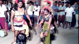 Today tamil aunty karakattam Night hod dance HD new 2016