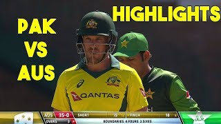 Pakistan VS Australia  2nd T20 Highlight || Tri Series 2018 width=