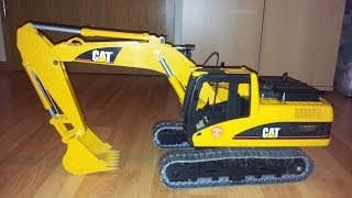 getlinkyoutube.com-Bruder Bagger CAT rc Umbau