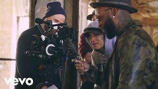 getlinkyoutube.com-Eminem, Slaughterhouse, Yelawolf - CXVPHER (Behind The Scenes)