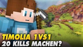 getlinkyoutube.com-20 KILLS MACHEN!? - Timolia 1vs1 | Minecraft
