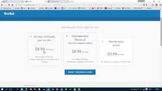 getlinkyoutube.com-descargar archivos gratis de scribd  | octubre 2016 | 100% funcional