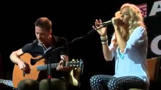 getlinkyoutube.com-Carrie Underwood - Two Black Cadillacs (Acoustic @ CMA Songwriters Series)