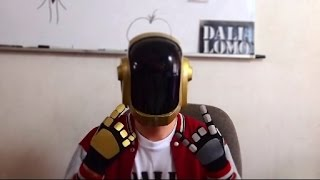 getlinkyoutube.com-#65: Guy-Manuel (Daft Punk) Helmet DIY Part 3 - Brain, Details, Paint Idea