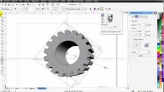 getlinkyoutube.com-Curso de CorelDraw - Crear una rueda con efecto 3D - Part 9