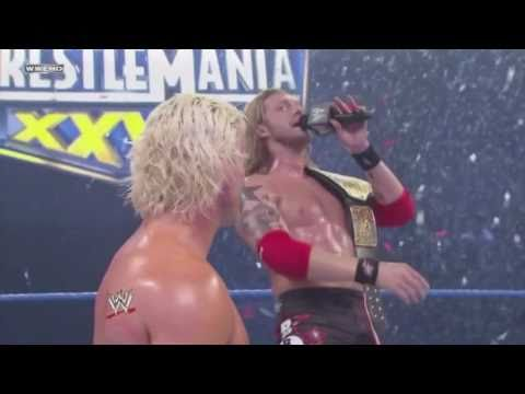 Edge singing Goodbye to Dolph Ziggler / Smackdown 18/2/11