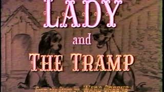 Opening To Lady And The Tramp 1987 VHS [True HQ Redux] *read Desc.*