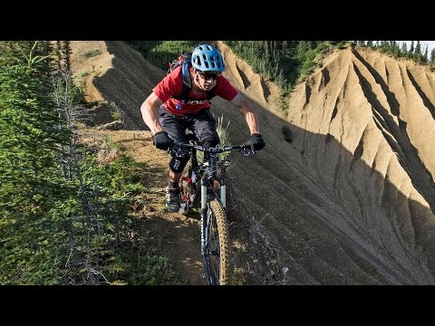 No Room For Error on this Alaskan Ridgeline MTB Trail   Backcountry Hut: Part 2