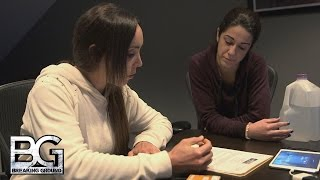 getlinkyoutube.com-Bayley sits down with Coach Amato for her performance review: WWE Breaking Ground, Dec. 14, 2015