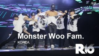 getlinkyoutube.com-Insane Krumping Showcase - Monster Woo Fam | STRIFE. | R16 Korea 2013