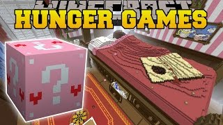 getlinkyoutube.com-Minecraft: ALICE IN WONDERLAND HUNGER GAMES - Lucky Block Mod - Modded Mini-Game