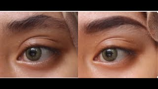 getlinkyoutube.com-Eyebrow Tutorial Without Trimming! Tutorial Alis Tanpa Cukur