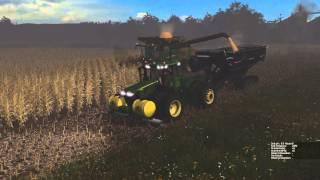 getlinkyoutube.com-Farming Simulator 2015:  Early Morning Harvesting