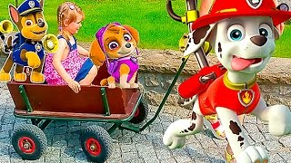 getlinkyoutube.com-ГЕРМАНИЯ #4 Зоопарк в Берлине Видео для детей Животные Настюшик едет на телеге Kids euro show