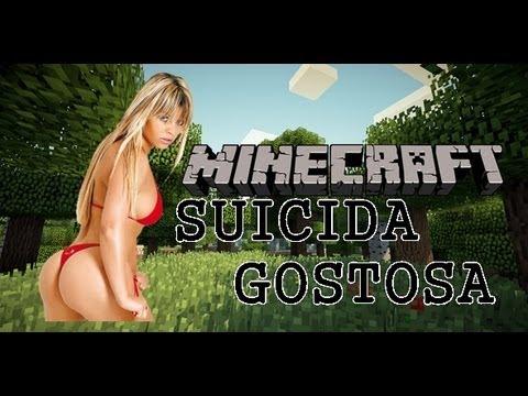 5 Coisas que uma Suicida Gostosa faria no Minecraft