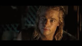 Achilles And Briseis. Troy. With Subtitles.