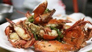 getlinkyoutube.com-Pepper and Salt Lobster 椒鹽龍蝦