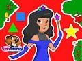 """Princess Shapes Christmas""   Busy Beavers Christmas, Babies, Toddlers, Preschool Lessons"
