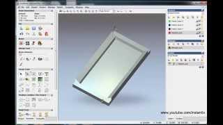 Make box bottom part in artcam,