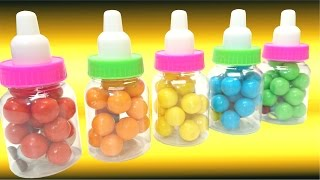 getlinkyoutube.com-Bubble Gum Balls Surprise Egg Toad Patrick Star Lalaloopsy Boots Jeff Gorvette