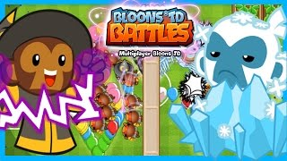 getlinkyoutube.com-Bloons TD Battles - MAGIC ICE TOWER! - New Best Ice Tower Strategy BTD Battles