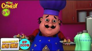 Motu Ke Samosey Ki Dukan - Motu Patlu in Hindi - 3D Animated cartoon series for kids - As on Nick