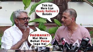 Akshay Kumar Postponed Padman Release For Padmavati   Sanjay Leela Bhansali, Ranveer Singh, Deepika