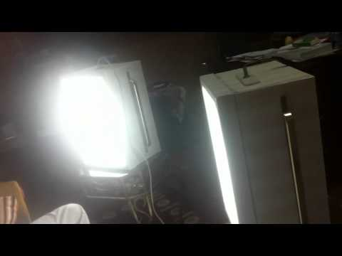 سوفت بوكس إضاءات تصوير صنع منزلي