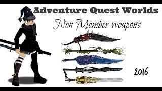 getlinkyoutube.com-=AQW= How to Get Cool Non Member Weapons (2016)