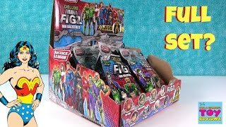 Justice League Deluxe Mini Figz Series 1 Blind Bag Opening | PSToyReviews
