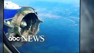 getlinkyoutube.com-Southwest Flight Makes Emergency Landing After Catastrophic Engine Failure Midair