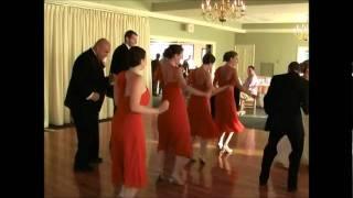 getlinkyoutube.com-Cupid Shuffle Dance at Wedding Reception!