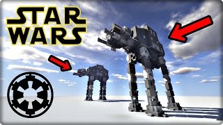getlinkyoutube.com-【Minecraft】AT-AT Walkerを建築してみる【STAR WARS】