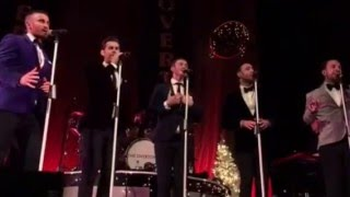 getlinkyoutube.com-The Overtones Driving Home for Christmas - Swansea 06.12.15