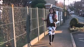 getlinkyoutube.com-Shingeki no Kyojin Cosplay Crack 2