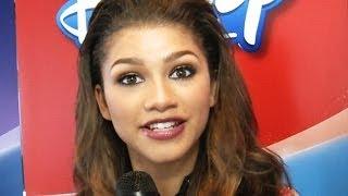 getlinkyoutube.com-Zendaya Coleman Shares Her First Onscreen Kiss
