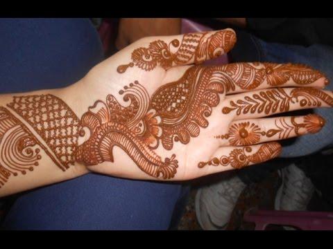 Eid Henna Mehendi 2014:Best Arabic Bridal Design Mehndi For Teej & Karwa Chowth