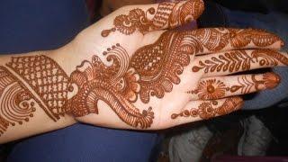 getlinkyoutube.com-Eid Henna Mehendi 2014:Best Arabic Bridal Design Mehndi For Teej & Karwa Chowth