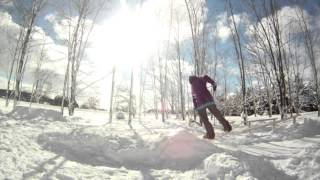 getlinkyoutube.com-Snowboarding trick tip: How to frontflip