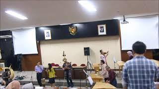 Pertunjukan Musik Tradisional Kolintang, Dekanat FIB UI