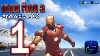 getlinkyoutube.com-IRON MAN 3: The Official Game Android Walkthrough - v1.0.2 Part 1 -