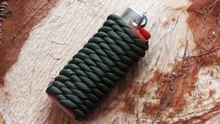 getlinkyoutube.com-How To Do A Paracord Lighter Wrap