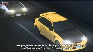 Initial D AE86 (Trueno) vs EK9 (Civic)