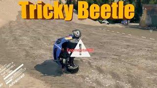 getlinkyoutube.com-Spin Tires | Uncontrollable BEETLE!