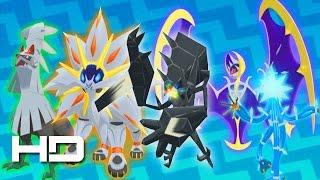 getlinkyoutube.com-Pokemon Sun and Moon - All Legendary Pokemon, Ultra Beasts & Alola Forms | Pokedex 100% Complete!
